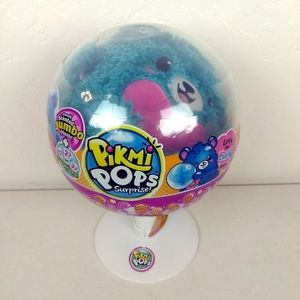 Pikmi Pops Surprise Jumbo Scented Curly Bear